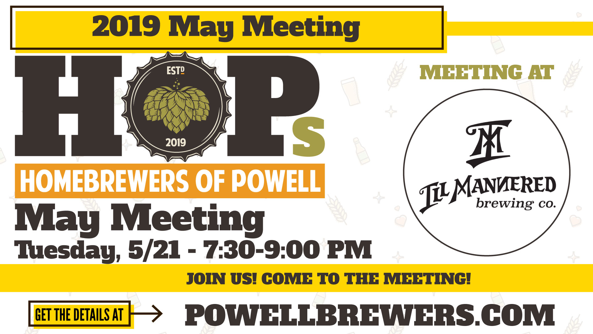May 2019 Meeting