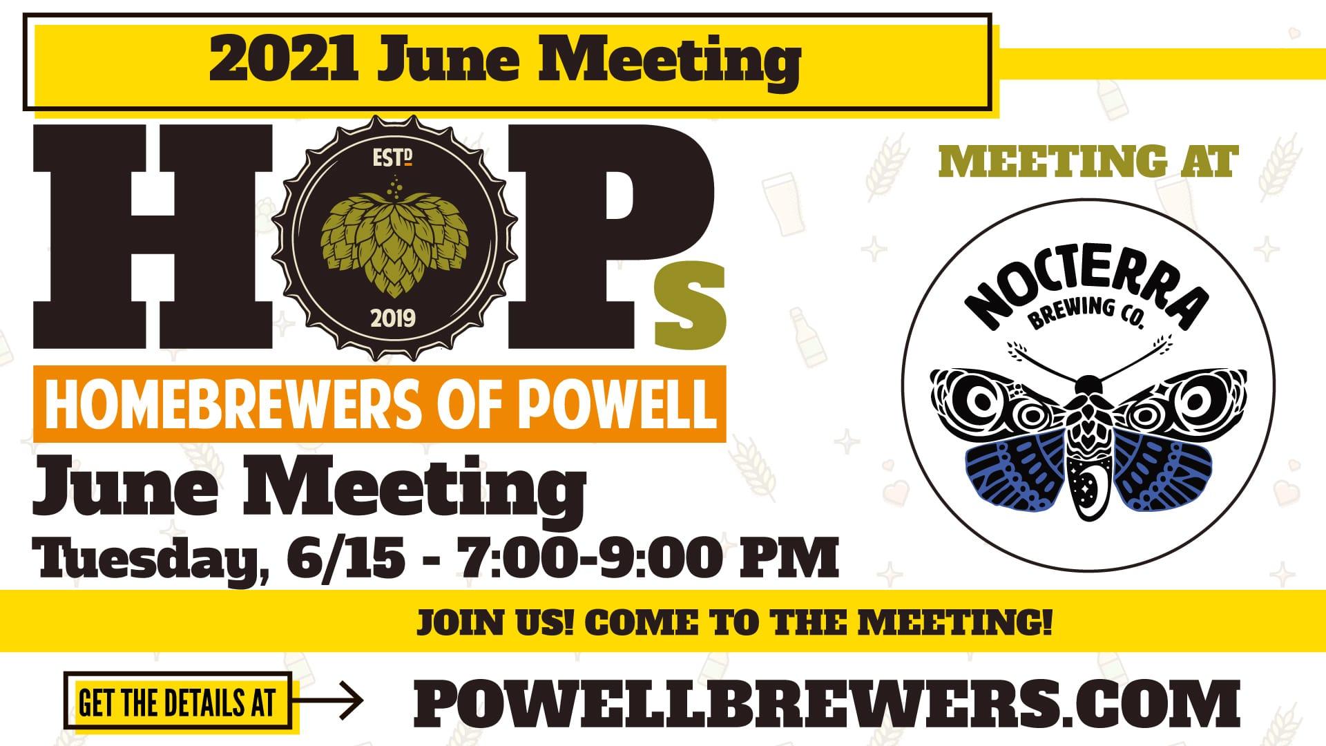 June HOPs Meeting