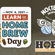 Learn To Home Brew Day 2021